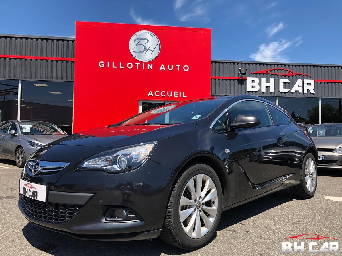 Opel Astra GTC coupé 1.4i turbo  140 CH