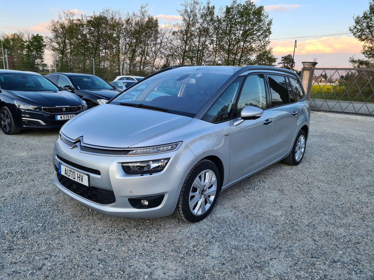 Citroen C4 grand picasso 2.0 bluehdi - 150 7 PL