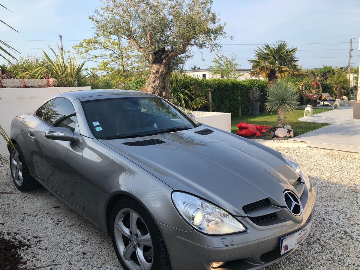 Mercedes SLK 350 4
