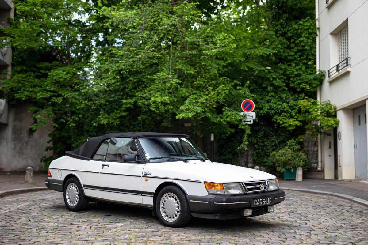 Saab 900 Turbo Cabriolet 170 ch - 1988 - 182 400km