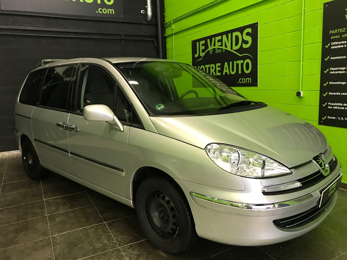 Peugeot 807 2.0 hdi 136 7 places