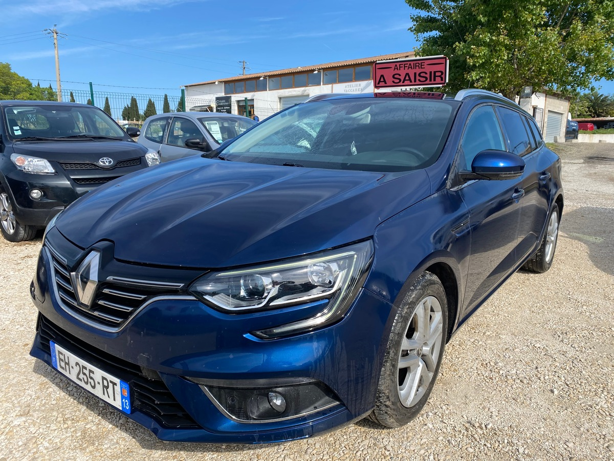 Renault Megane IV dCi 110 cv Boîte auto