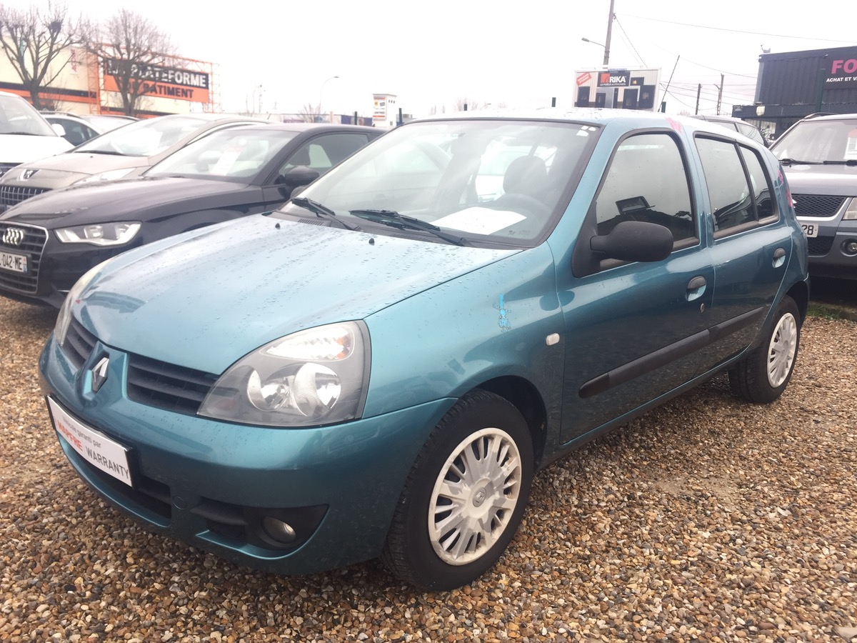 Renault Clio 1.2i 16v 75 AUTHENTIQUE 5P 1ERE MAIN