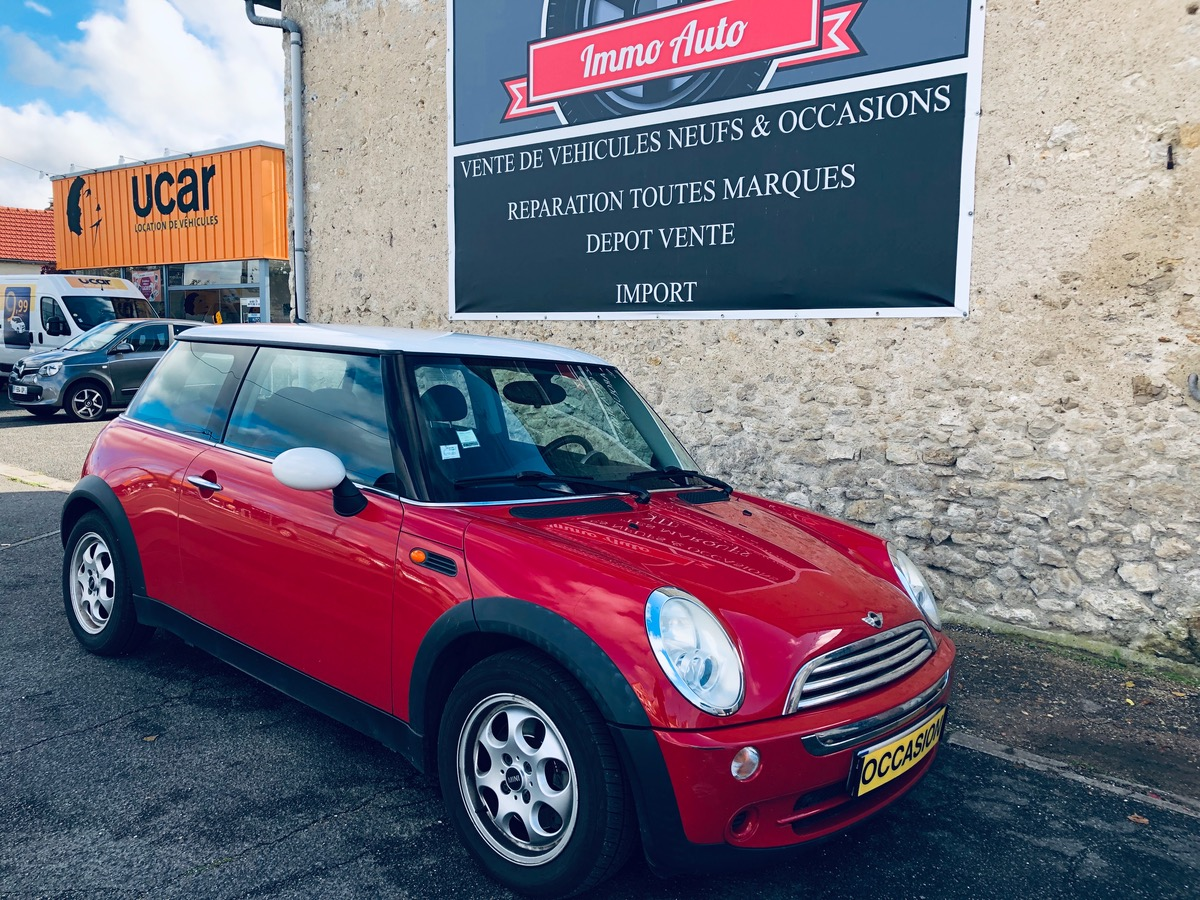 Mini Mini Cooper 1.6 i 115cv red chili cooper