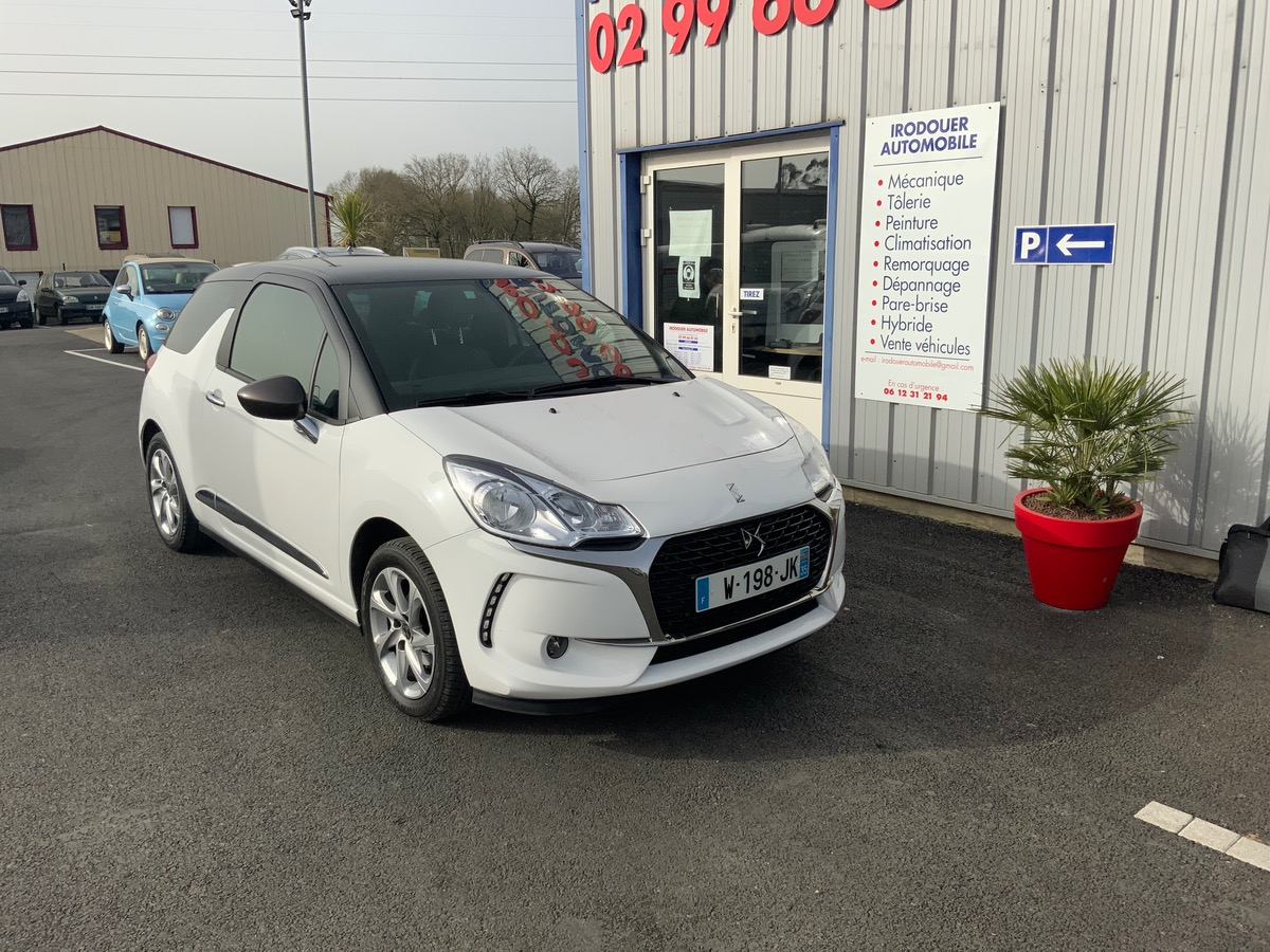 Citroen Ds3 So Chic Essence Cuir Clim Regul 9999e
