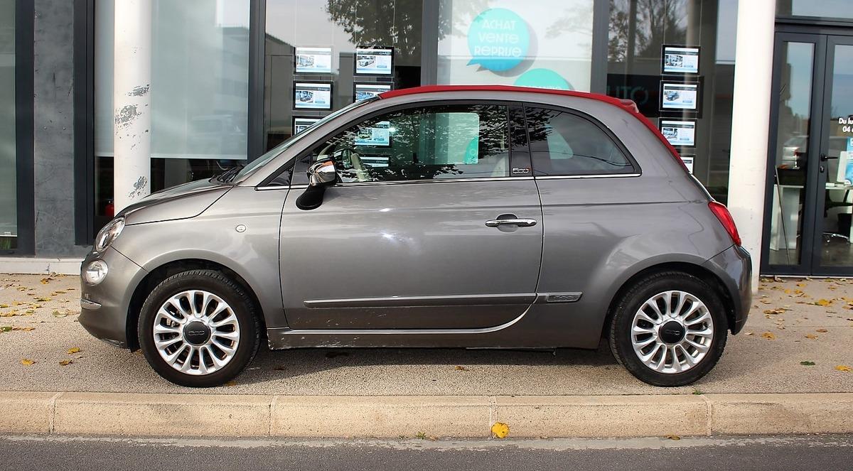 Fiat 500 C Cabriolet 69 cv LOUNGE Boite auto 6