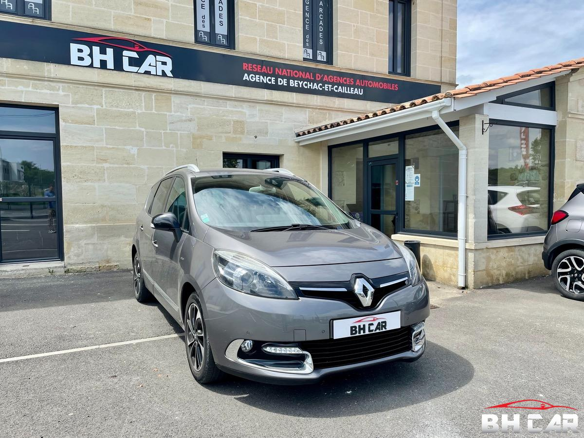 Renault Grand Scenic 130 CV 1.2L TCE BOSE 7 PLACES