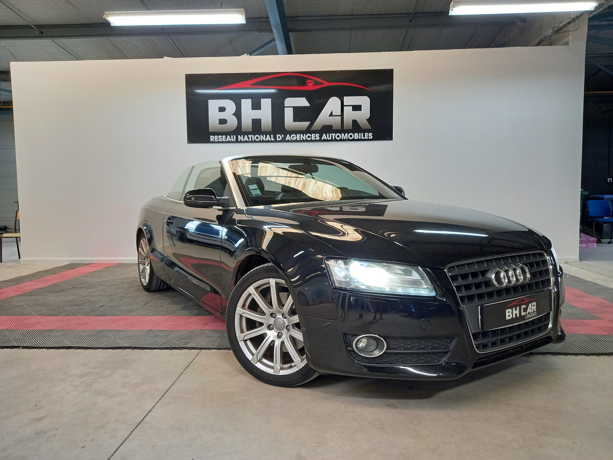 Audi A5 cabriolet 2l7 TDi 190 ch S-line