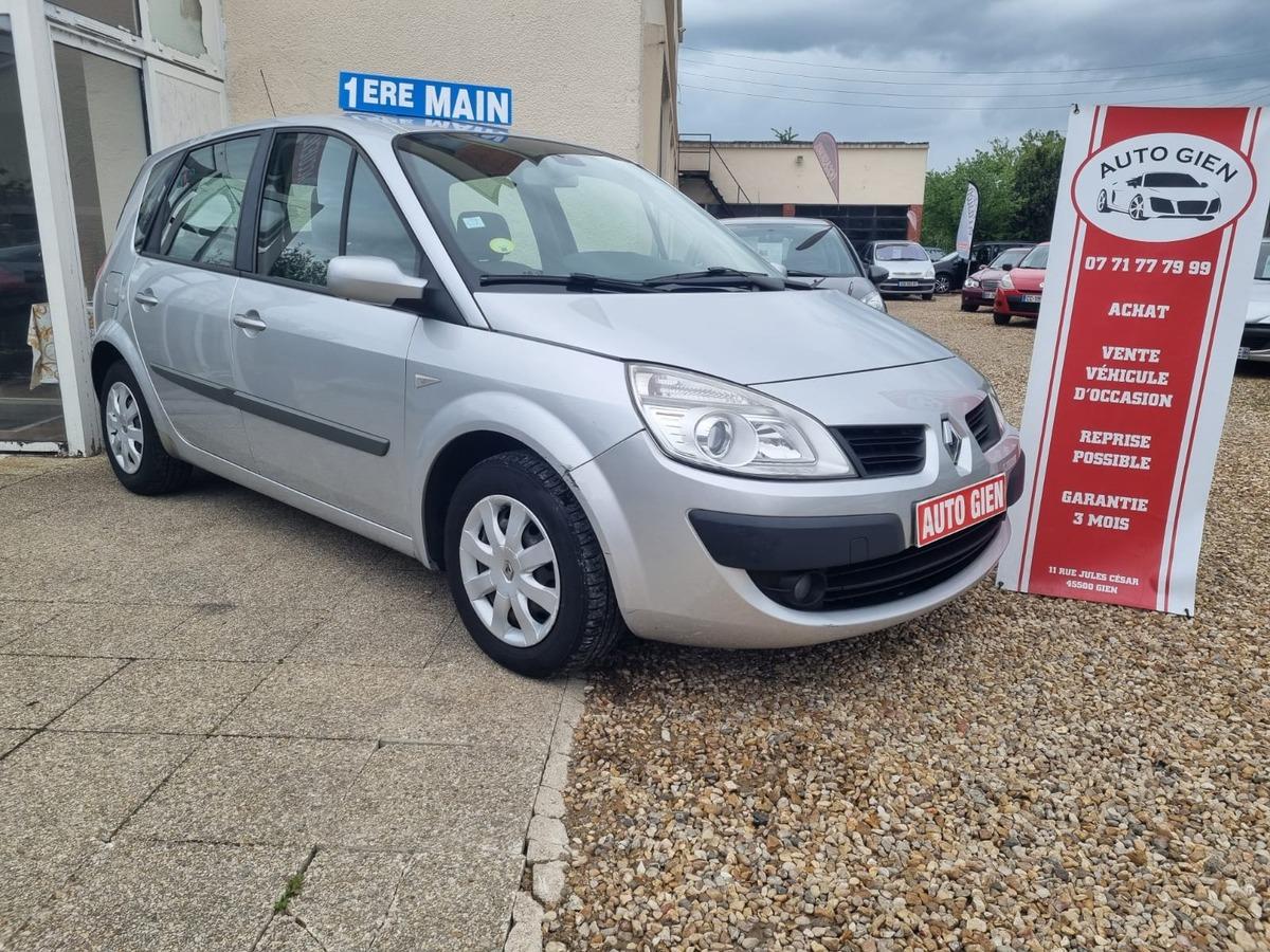 Renault Megane Scenic 1.6 110 ch 1er main 139000km