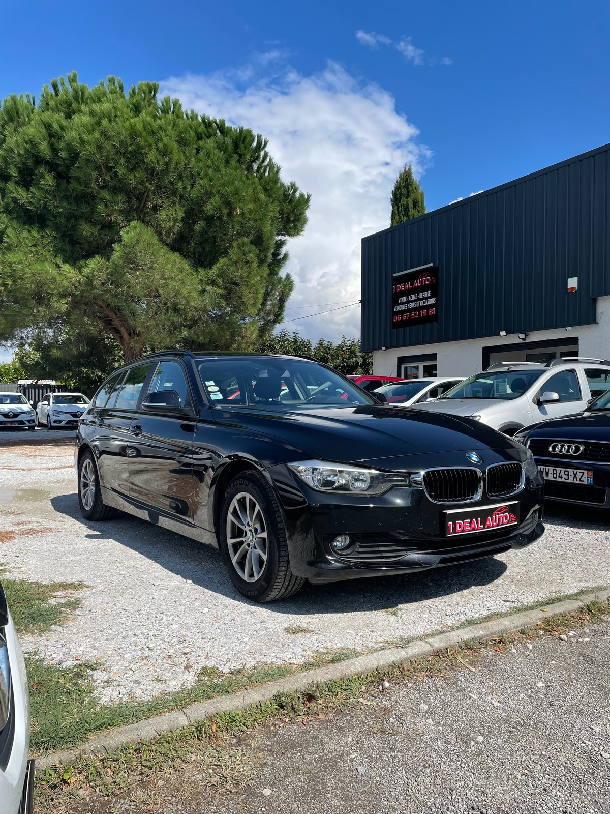 Bmw Serie 3 LOUNGE 316D 115 touring GPS 2015