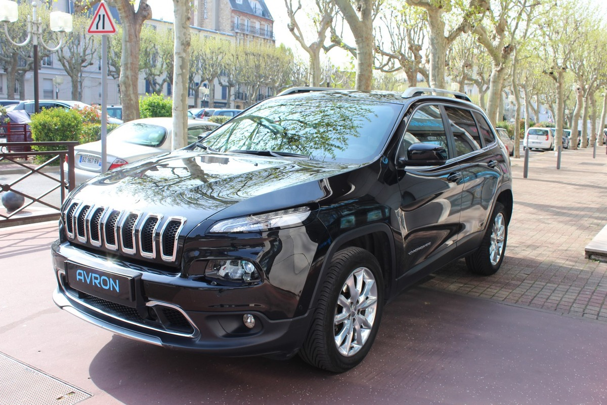 Jeep Cherokee IV 2.0 MULTIJET 170 LIMITED 4WD TO