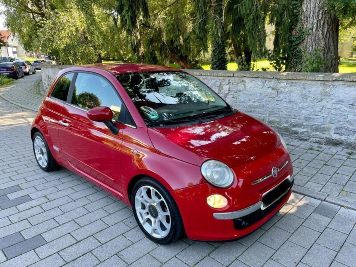 Fiat 500 1.3 D Multijet 16V Sport - GPS - Clim !