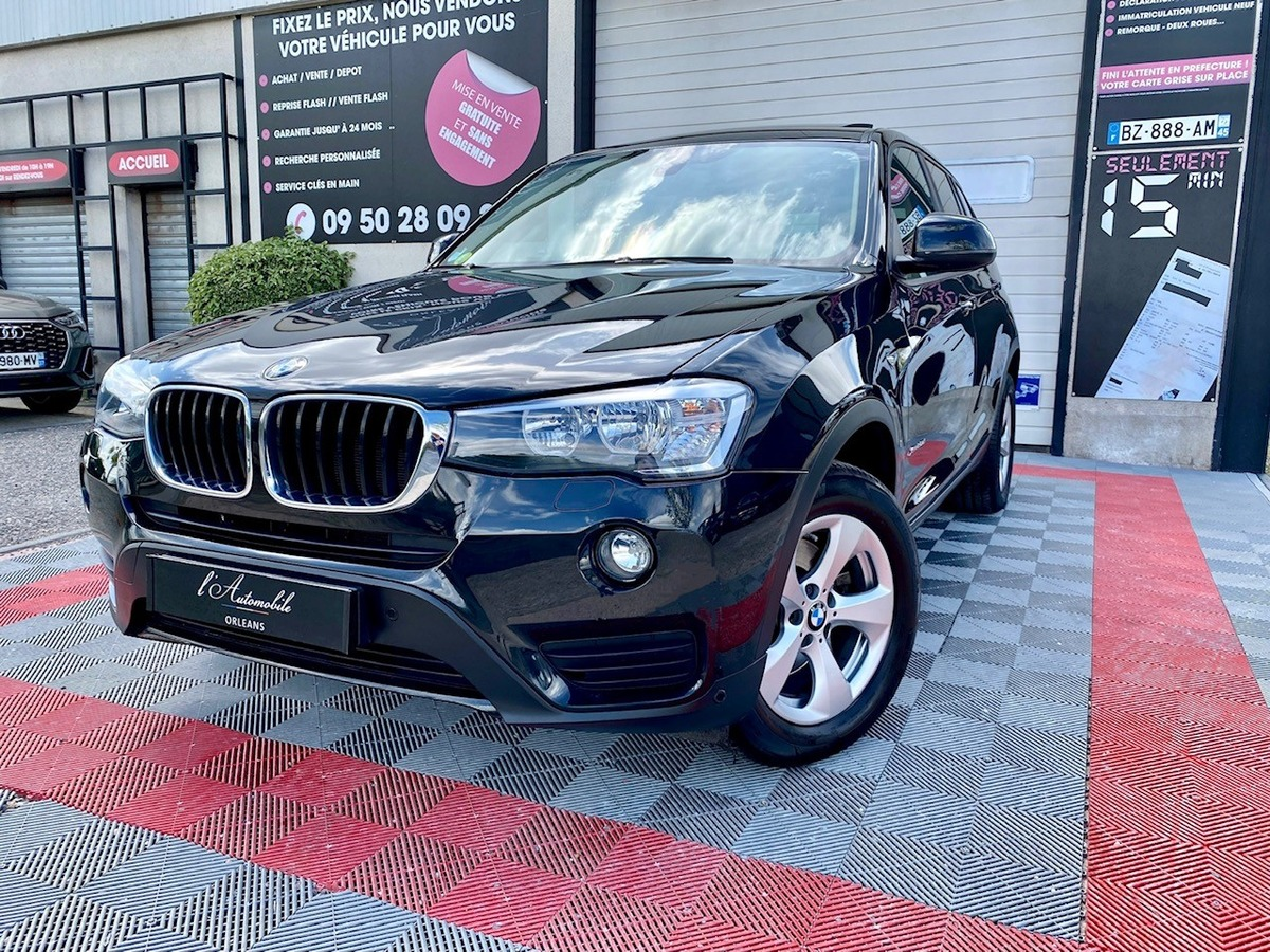 Bmw X3 20D xDRIVE 190ch EXECUTIVE LUXE