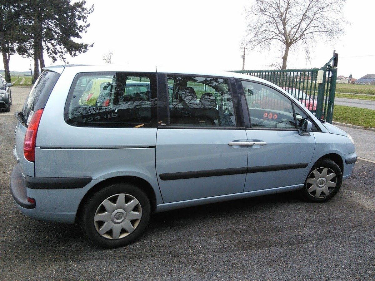 Peugeot 807 2.0 HDI 136 CONFORT 7PL 173663km