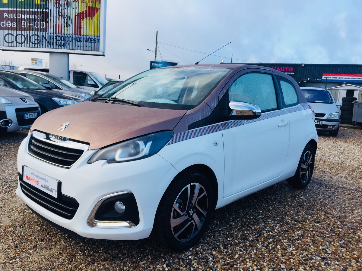 Peugeot 108 1.2 PURE TECH 82 ALLURE 7000KMS