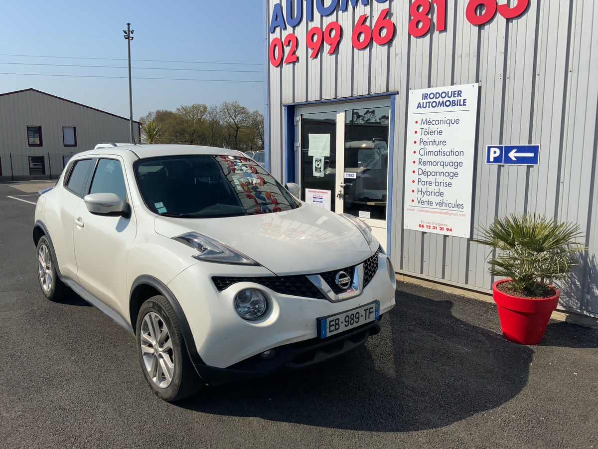 Nissan Juke 1.5 dci Connect Edition 10/14 135000km