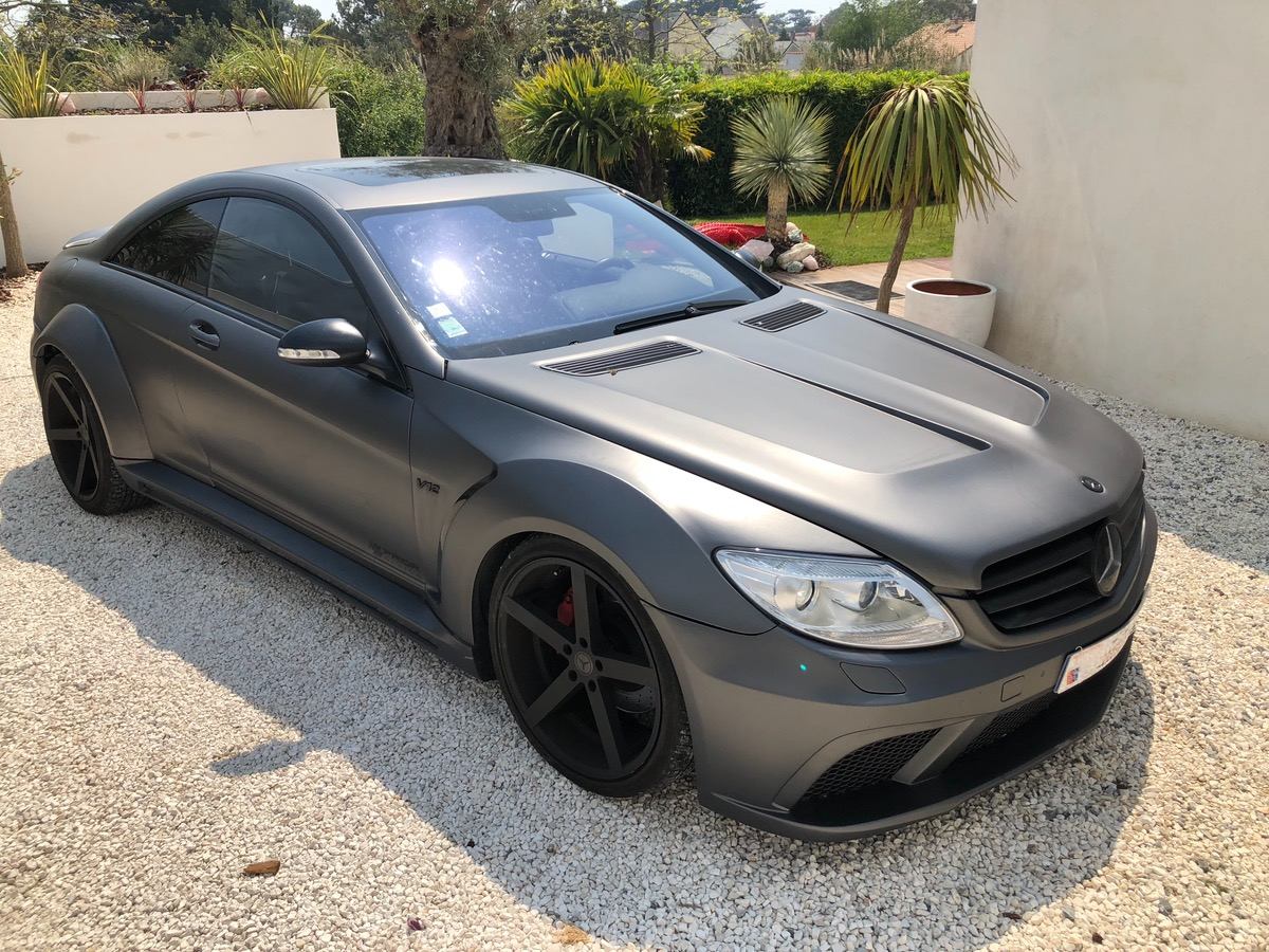 Mercedes Classe Cl coupé cl 500 KIT-BLACK SERIE 9
