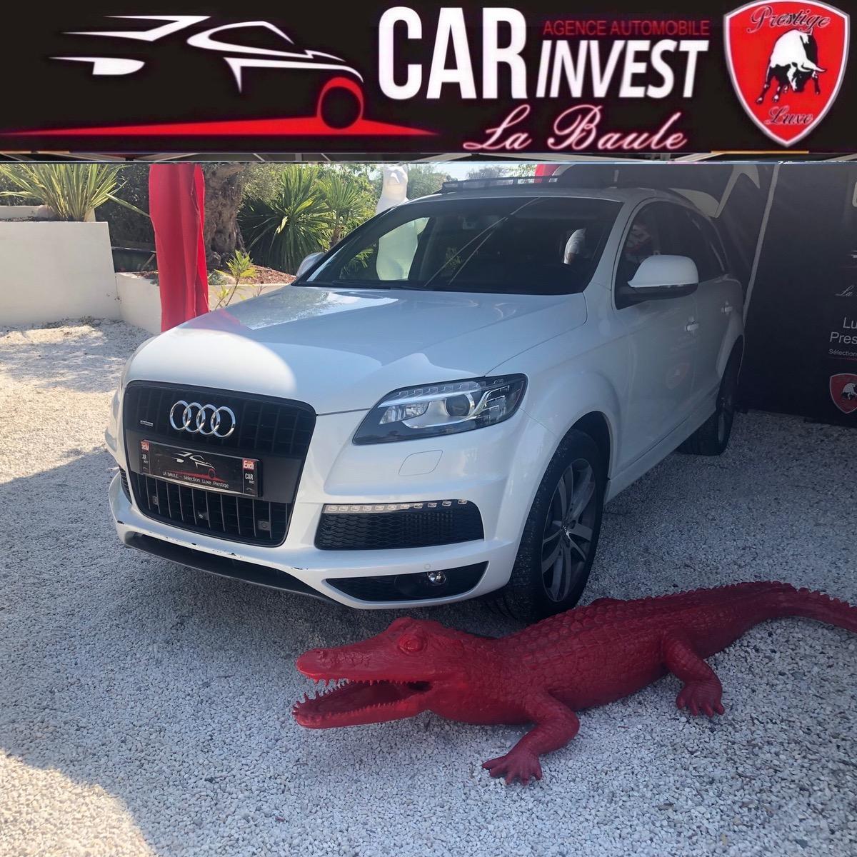 Audi Q7 3.0 tdiq SLINE AVUS QUATTRO