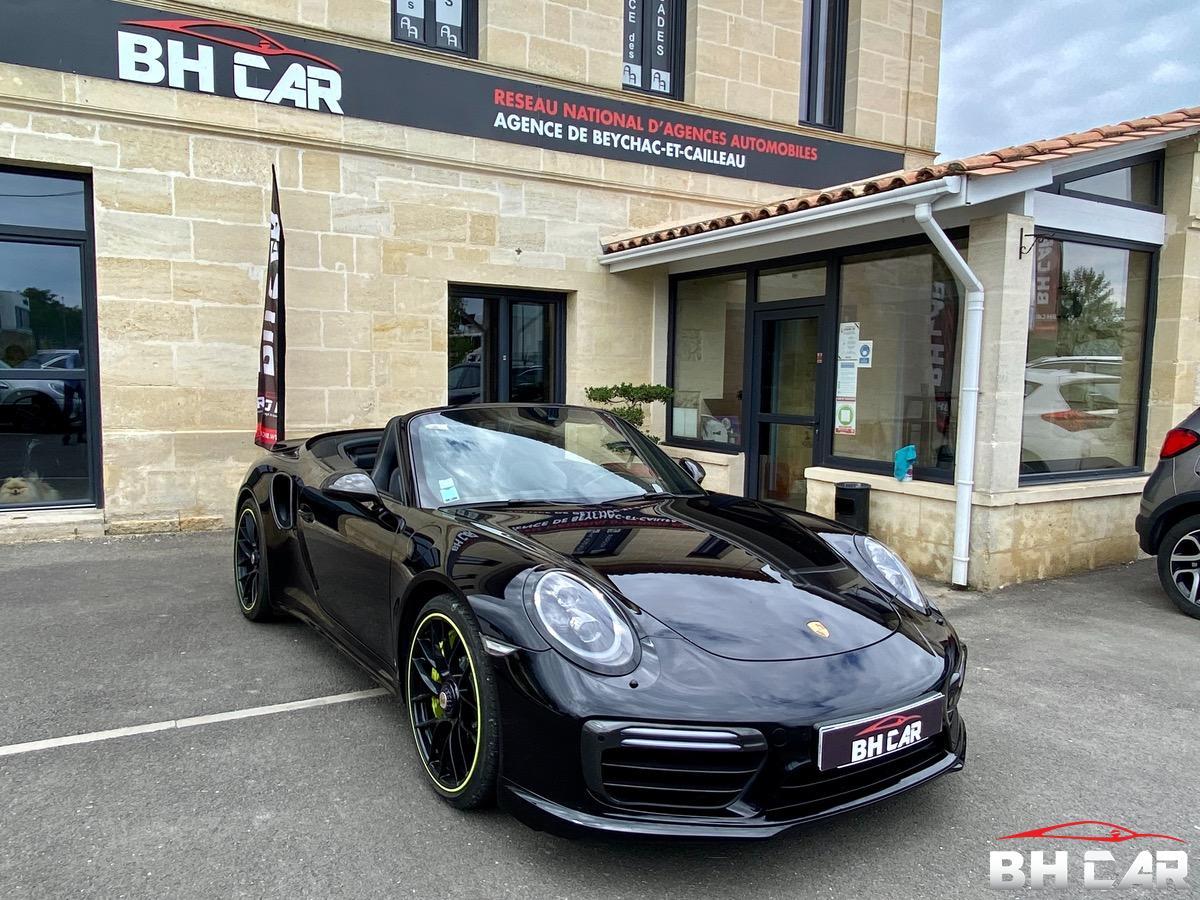 Porsche 911 991 TURBO S TECHART CABRIOLET 640 CV