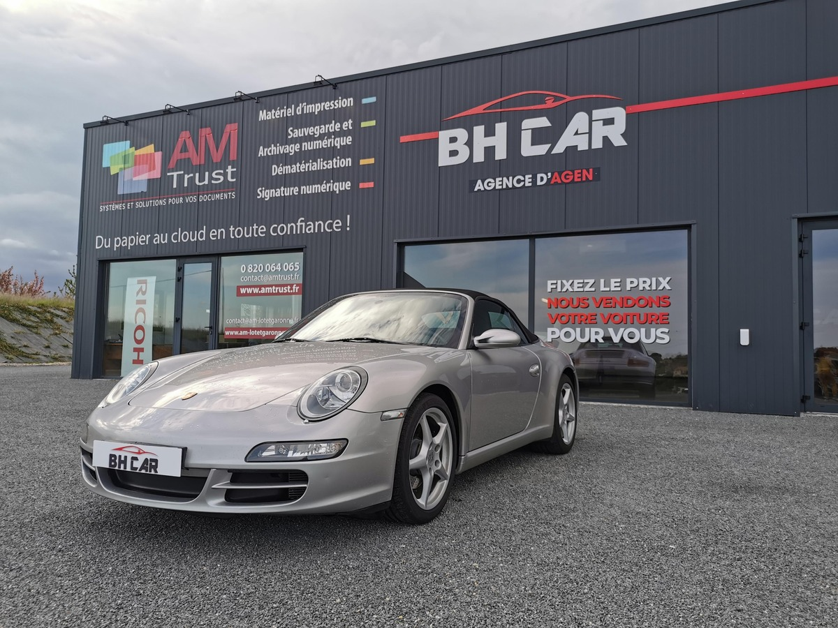 Porsche 911 cabriolet 3.6i