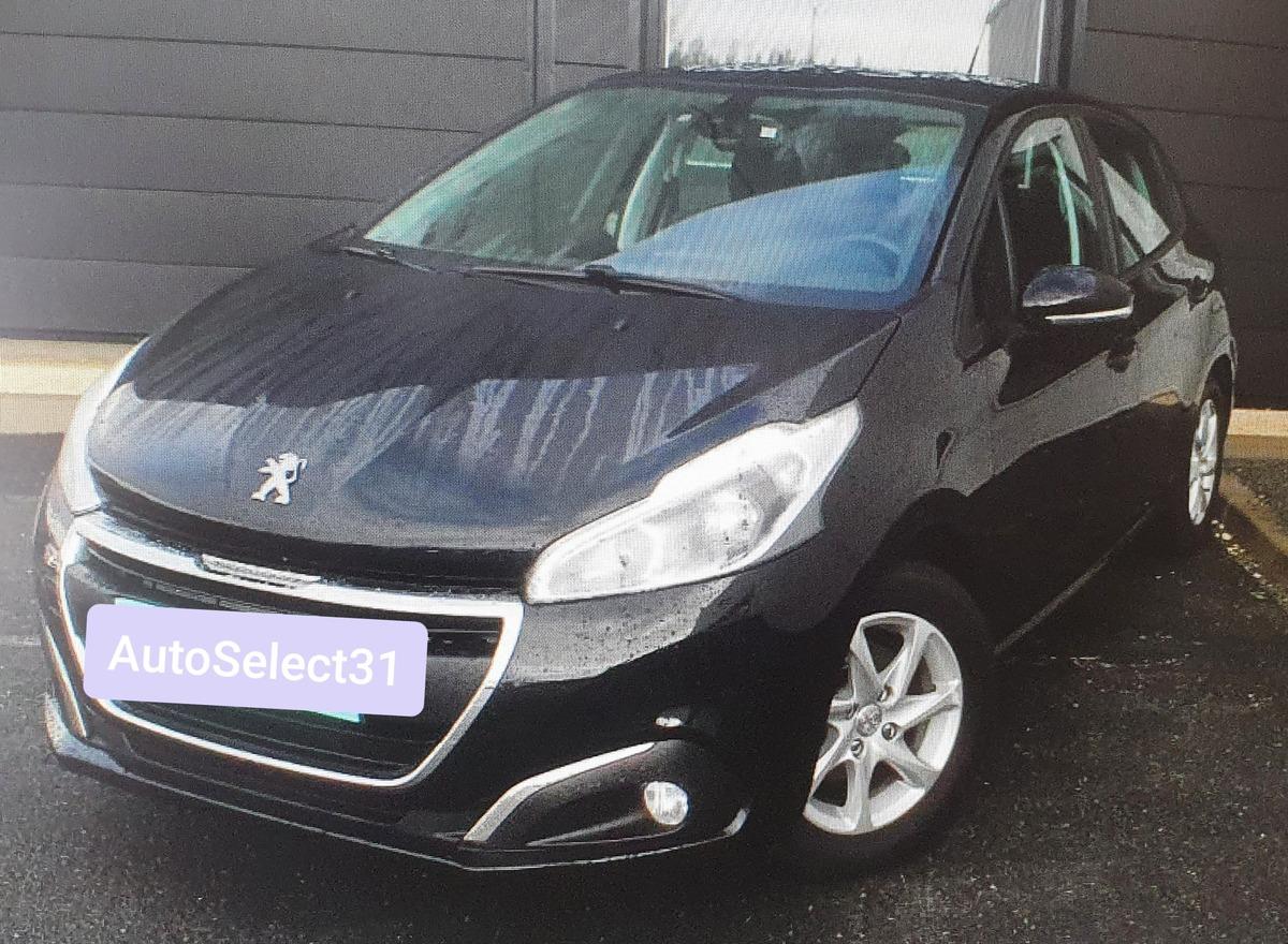 Peugeot 208 1.5 100 CV ACTIVE 62000km 09/2018