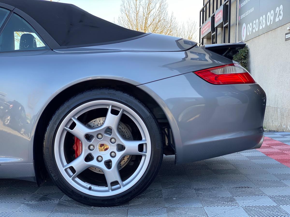 Porsche 911 997 CARRERA S CABRIOLET 3.8 355 l