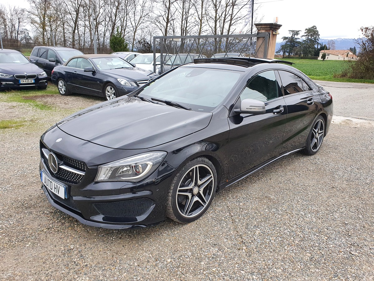 Mercedes Classe Cla 220 CDI AMG FASCINATION 7G r12