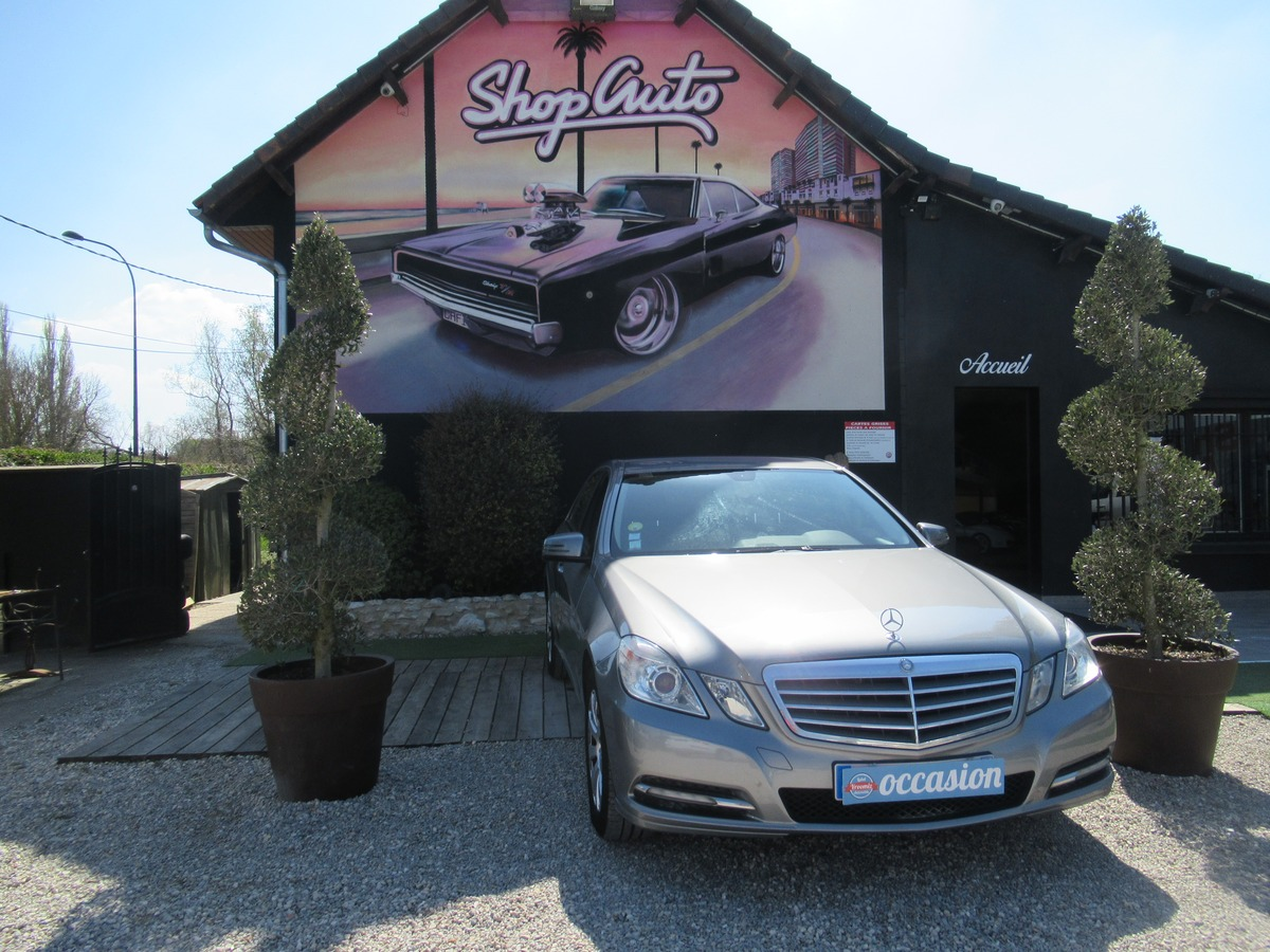 Mercedes Classe E e 200 cdi fap blueefficiency
