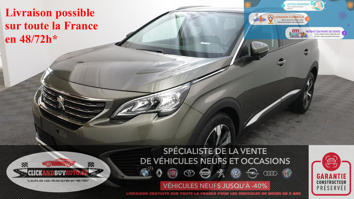 Peugeot 5008 1.5 BLUEHDI 130 ALLURE 7 PLACES h5