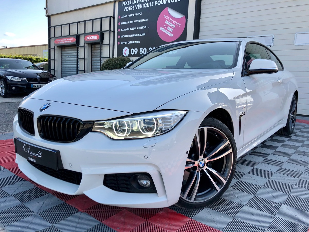 Bmw Serie 4 420D COUPE XDRIVE 190 M PERFORMANCE