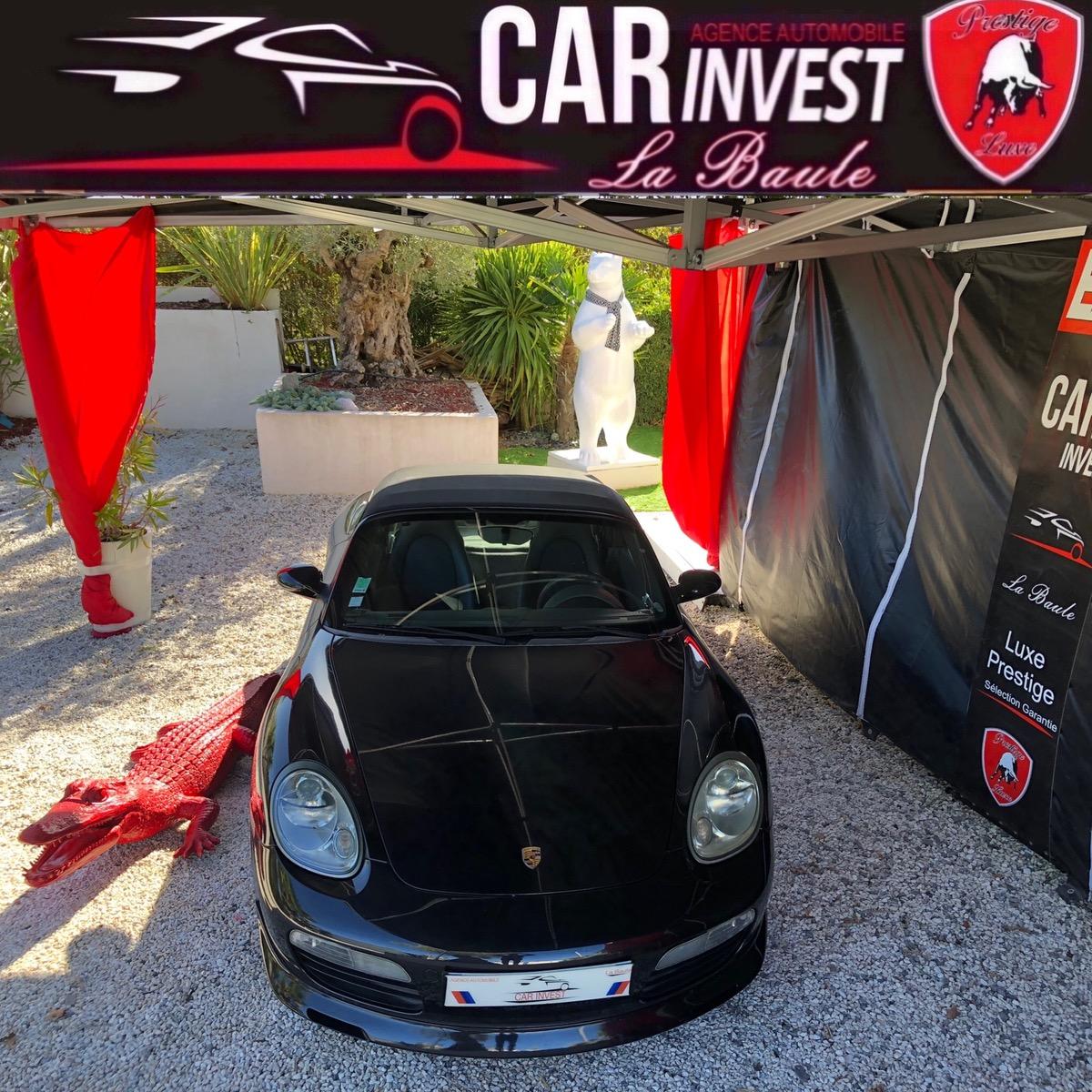 Porsche Boxster 2.7i - 245 lux