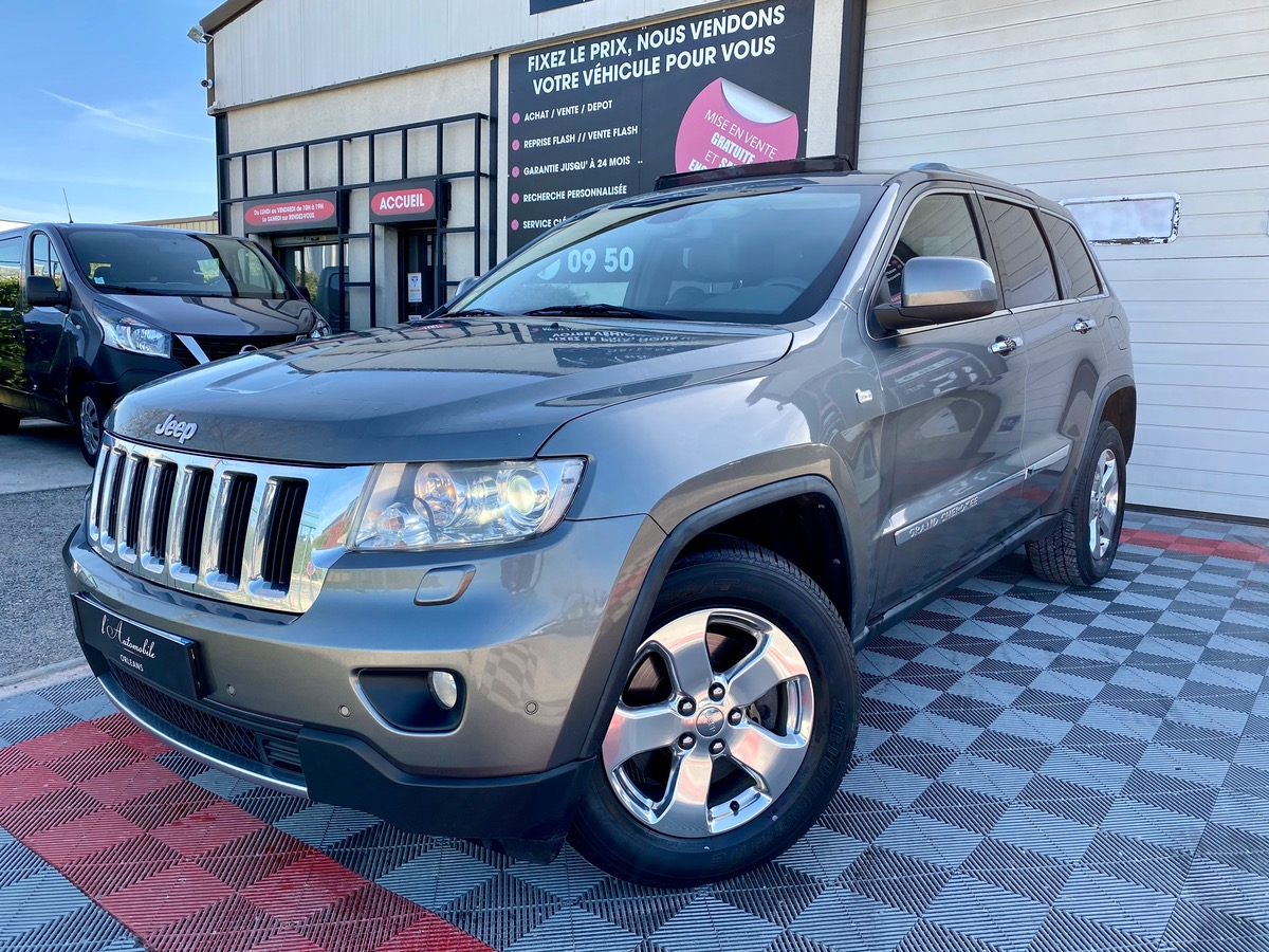 Jeep Grand Cherokee 3.0 CRD 241ch TO/ATTELAGE/CAM
