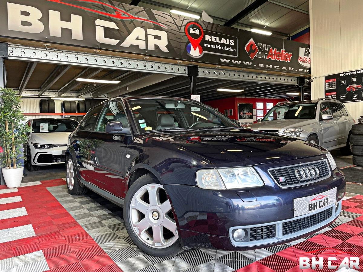 Audi S3 8L Quattro 1.8 5V Turbo 210ch 1ere main
