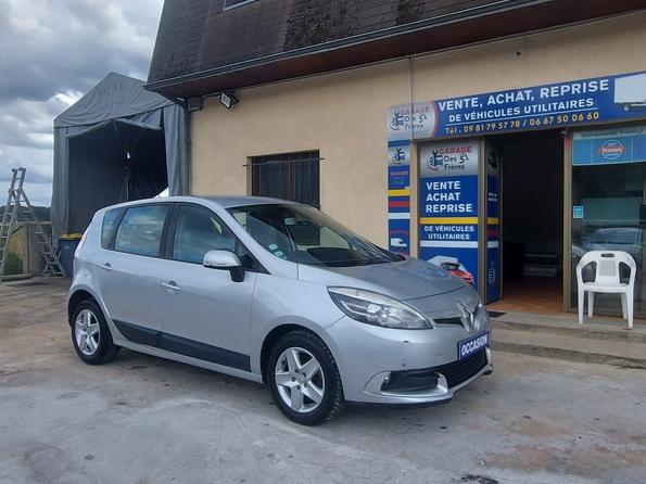 Renault Megane scenic 1.5 dci fap - 110 - bv edc