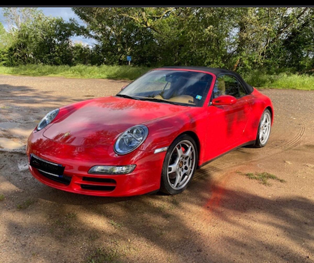 Porsche 911 CABRIOLET CARRERA  4S ETAT COLLECTION