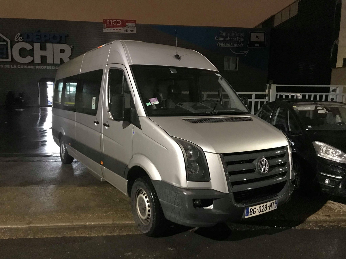 Volkswagen Crafter CHASSIS SIMPLE CABINE 35 4325