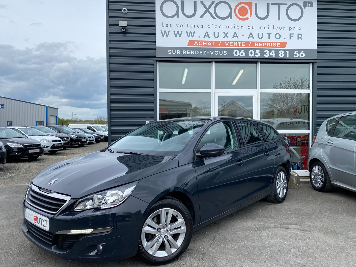Peugeot 308 SW 1.6 hdi 92 ch 117883kms 10/2014