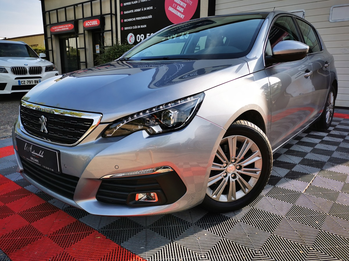 Peugeot 308 2 phase 2 1.6 HDI 120 ALLURE CAM/GPS