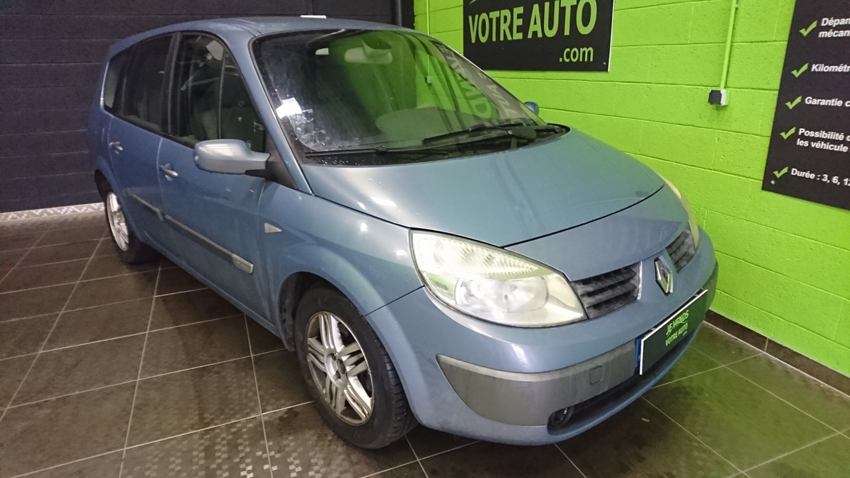 Renault Megane grand scenic 7 place 1.9 dci 120