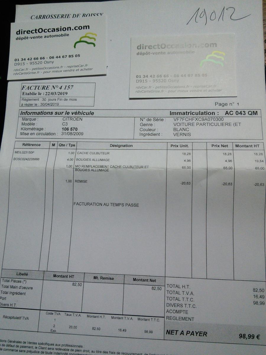 Citroen C3 1.1 First 106213km