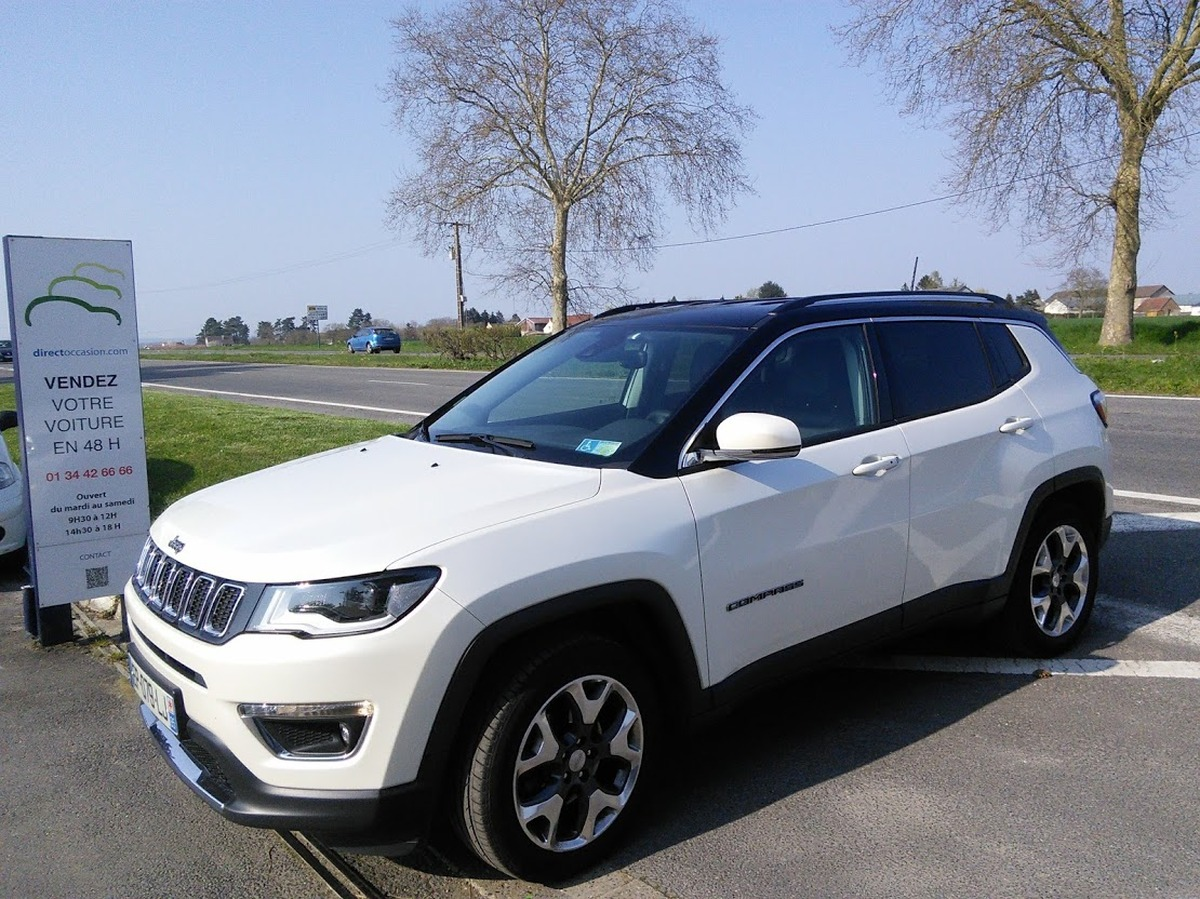 Jeep Compass 2.0 voitures occasion Cergy Pontoise