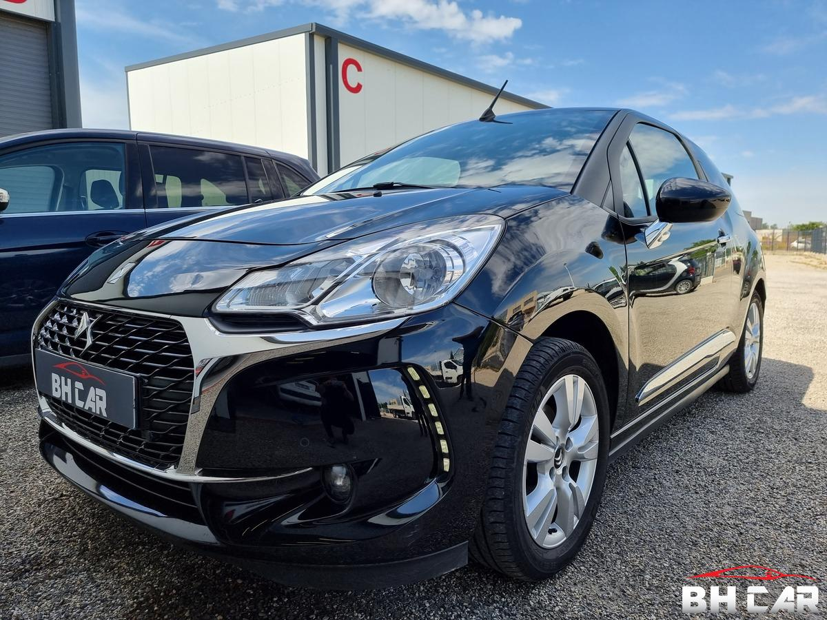 Ds ds3 Cabriolet 1.6 HDI 100cv 23Mkms 09/2017