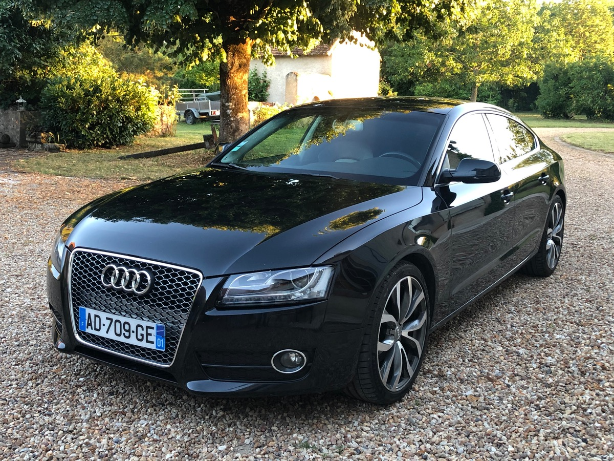 Audi A5 3.0l sportback ambition luxe full