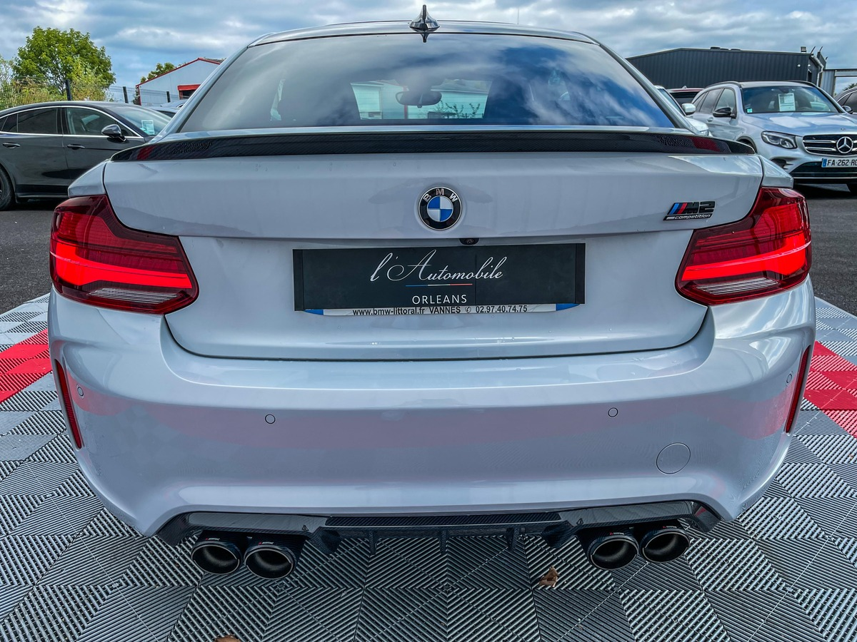 Bmw M2 COMPETITION 410 FULL CARBONE+VOLANT+AKRA