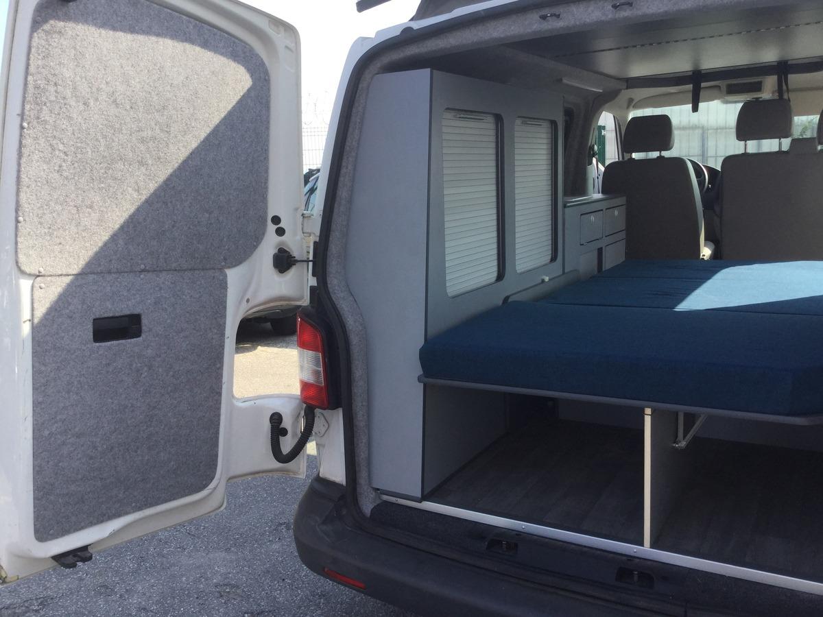 Volkswagen T5 2.0  TDI Camping-car  Lit Cuisine