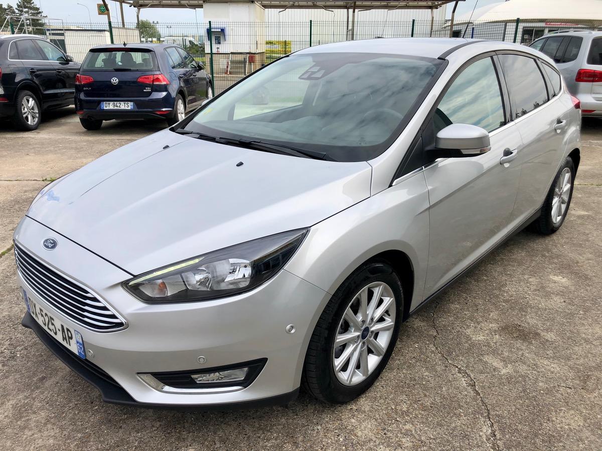 Ford Focus 1.5 TDCI 120 TITANIUM /GPS/REGU