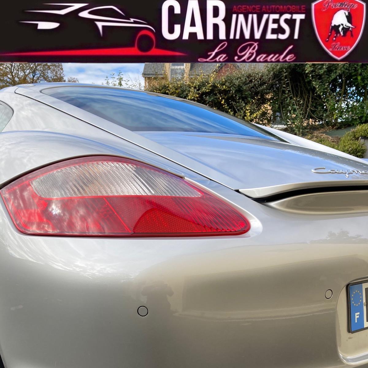 Porsche Cayman .S. 295 ch 3.4i - 295 cv