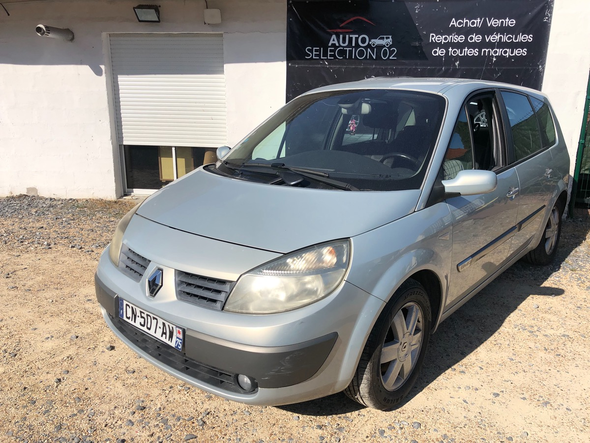 Renault Megane grand scenic 1.9 dci - 120 7 PLACES