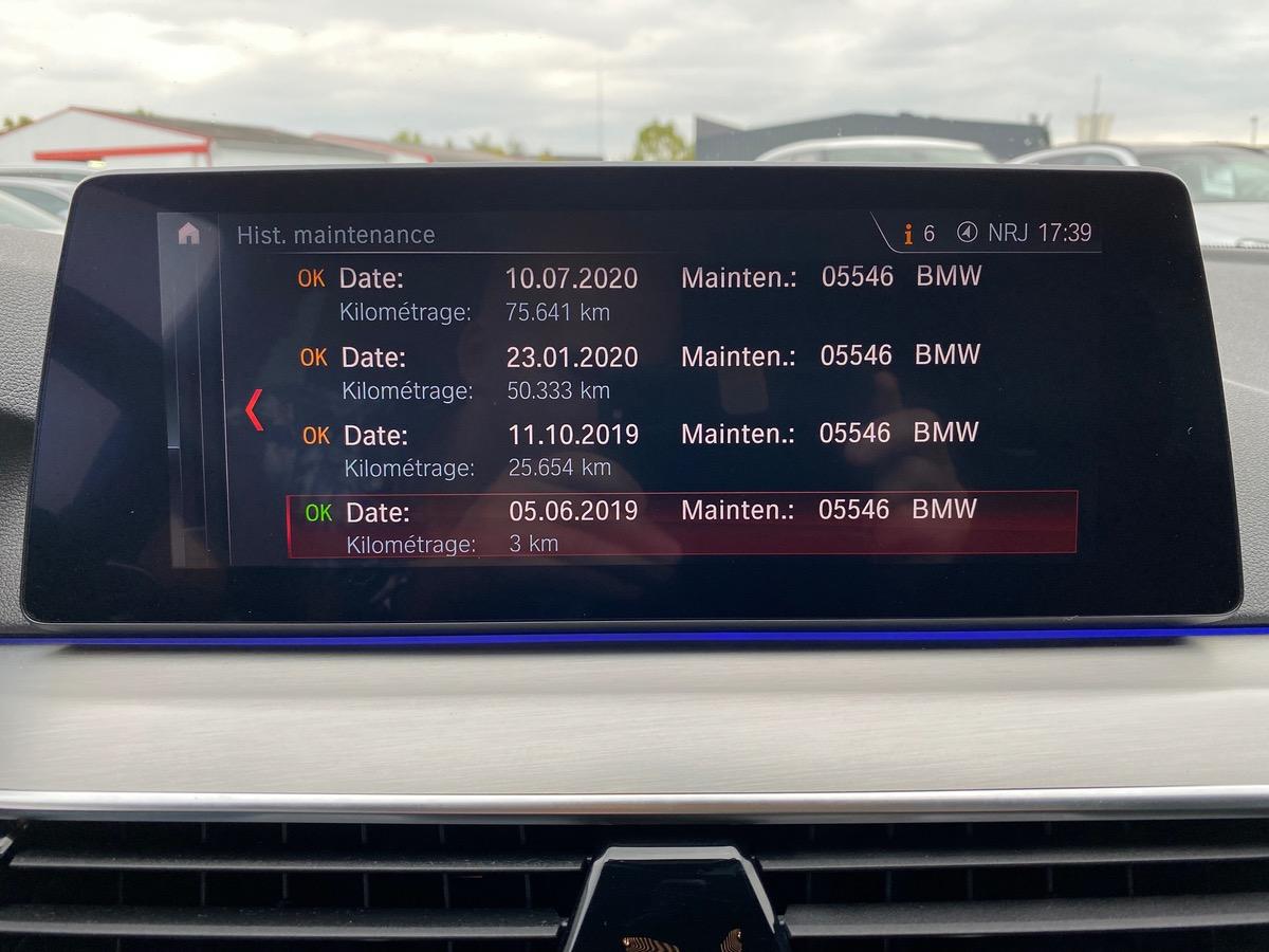 Bmw Serie 5 518DA TOURING M SPORT TO/HUD