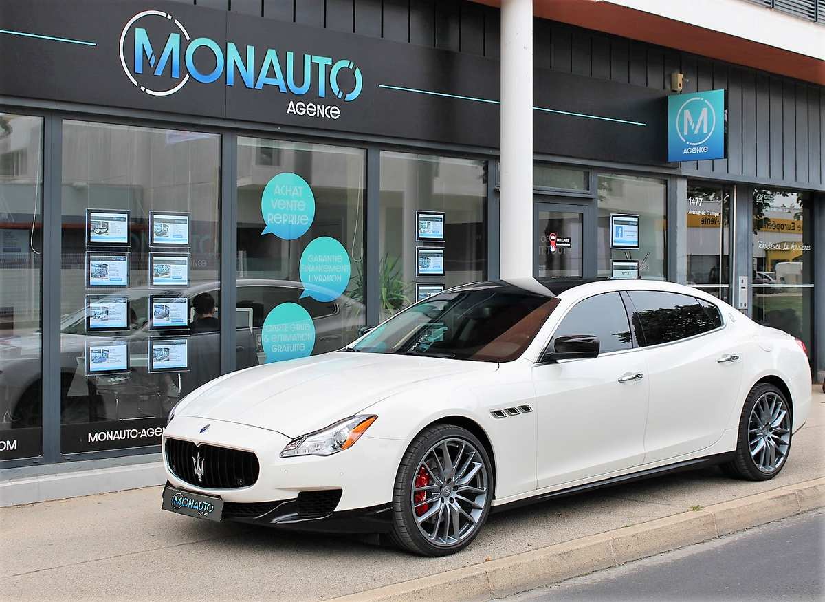 Maserati Quattroporte SQ4 3.0 V6 410 ch 23000 KM